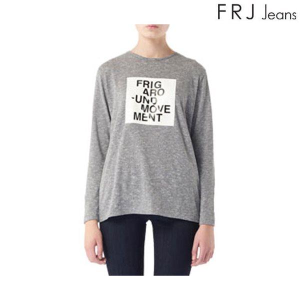 [FRJ]여성 프린팅 레쟈 패치 티셔츠 (F63F-TS537A)