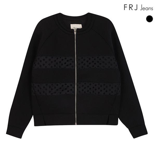 [FRJ]여성 펀칭배색네오프렌점퍼(F51F-MM521B)