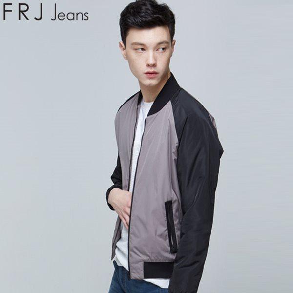 [FRJ]남성 팔배색폴리블루종점퍼 GR (F65M-MM921A)