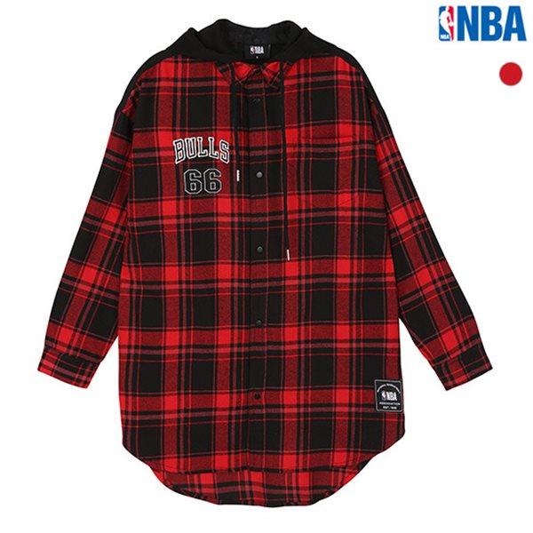[NBA]CHI BULLS 후드탈착 집업셔츠(N183SH210P)