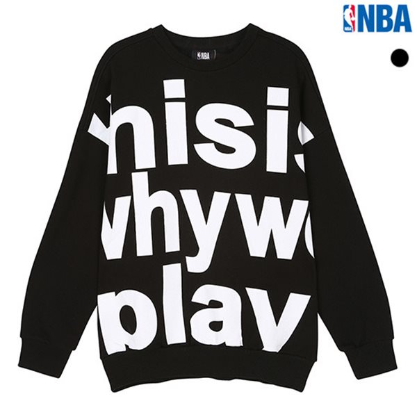 [NBA]NBA 빅로고 맨투맨 티셔츠(N183TS115P)