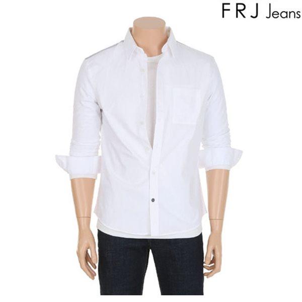 [FRJ]남성 다이마루배색셔츠 (F61M-SH041B)
