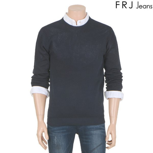 [FRJ]남성 매쉬절개풀오버니트(F61M-KP031A)