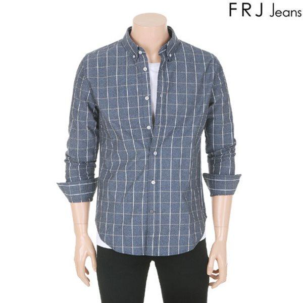 [FRJ]남성 체크패턴셔츠(F61M-SH061A)