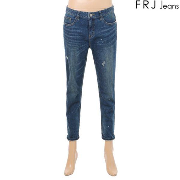 [FRJ]여성 D톤 빈티지 워싱 보이핏 (F63F-DP651A)