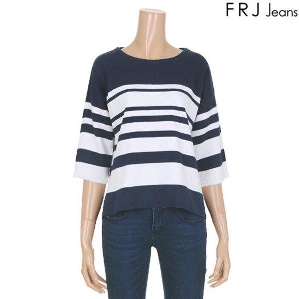 [FRJ]여성 드랍숄더ST7부소매니트(F61F-KP521B)