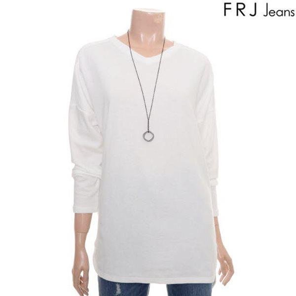 [FRJ]여성 오버숄더요크커팅티셔츠 (F61F-TS511A)