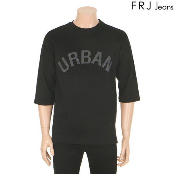 [FRJ]유니 엠보프린팅7부소매티셔츠(F61U-TS031B)