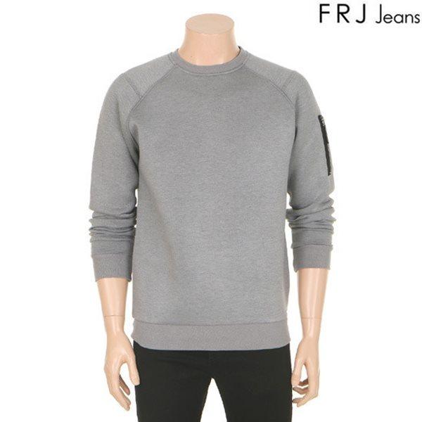 [FRJ]남성 소매지퍼장식네오플렌티셔츠(F61M-TS051A)