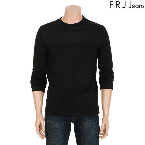[FRJ]남성 가슴타소재배색티셔츠(F61M-TS111B)