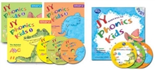 JY Phonics Kids 1-3 ��Ʈ + DVD 3��