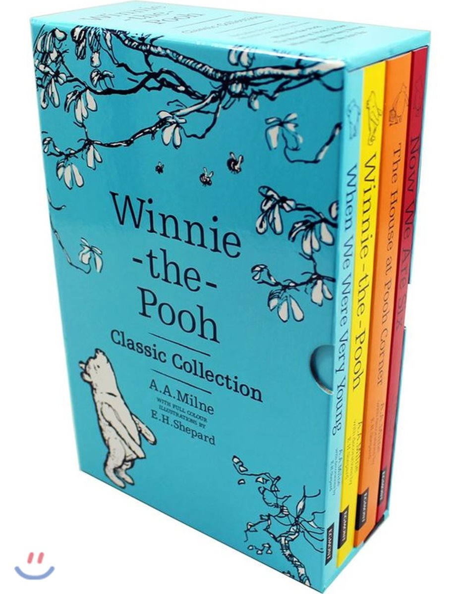 위니 더 푸 원서 클래식 컬렉션 4종 세트 (올컬러) : Winnie-the-Pooh Classic Collection