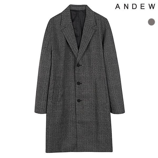 [ANDEW]남성 TR글랜체크 세미오버코트(O183CT130P)