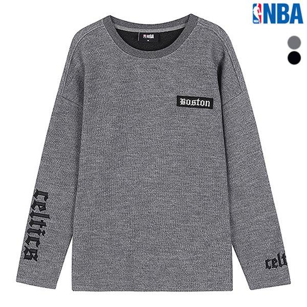 [NBA]BOS 가슴와펜 사카리바 라운드 티셔츠(N183TS313P)