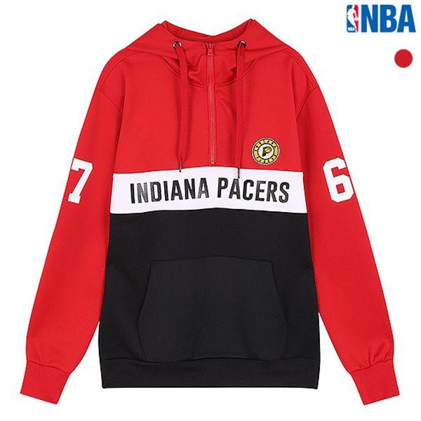 [NBA]IND PACERS 3단블록 후드티셔츠(N183TH315P)