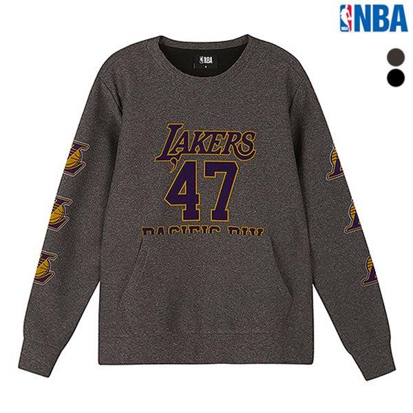 [NBA]LAL LAKERS 테크팩 맨투맨 티셔츠(N183TS120P)