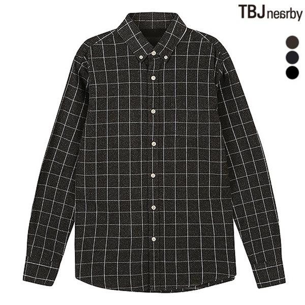 [TBJ]남성 제기장 해비기모 셔츠 (T154SH410P)