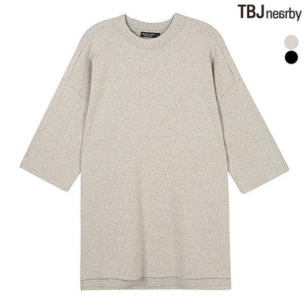 [TBJ]여성 루즈핏 하프기장 티셔츠(T154TS680P)