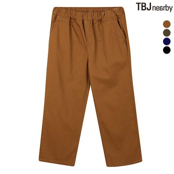 [TBJ]여성 코튼 기모 와이드 밴딩 팬츠(T154PT781P)
