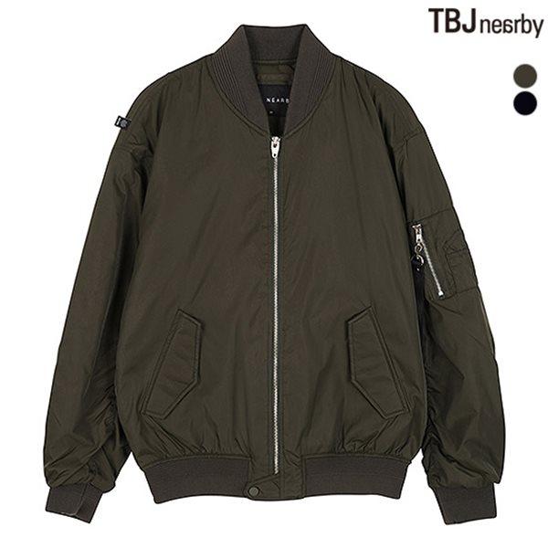 [TBJ]남성 오버핏 패딩 MA-1 점퍼(T184JP210P)