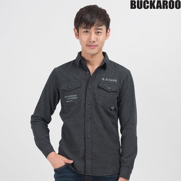 [BUCKAROO]남성 자가드/트윌 셔츠(B154SH410P)