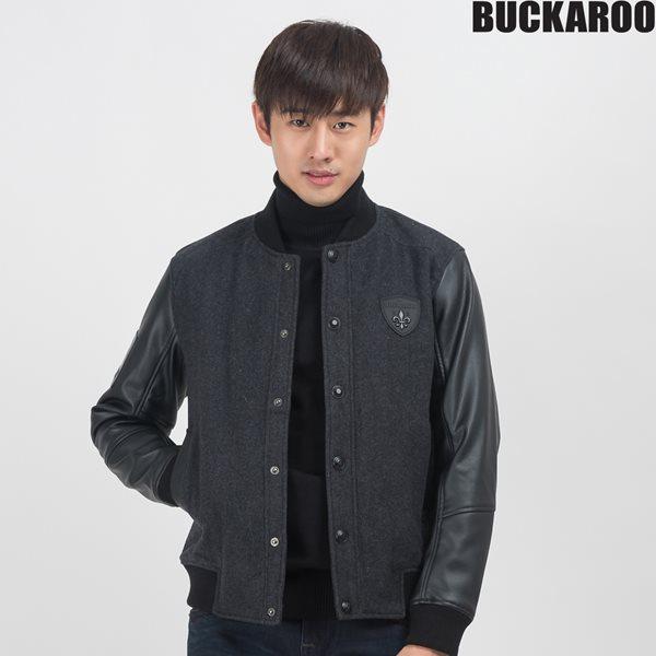 [BUCKAROO]유니 방모 합피소매 스타디움 점퍼(B154JP230P)