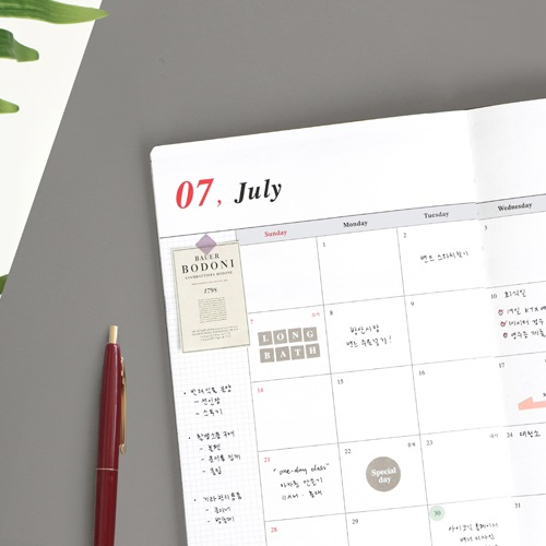 [노크펜 GIFT] 아이코닉 저널 J 2019