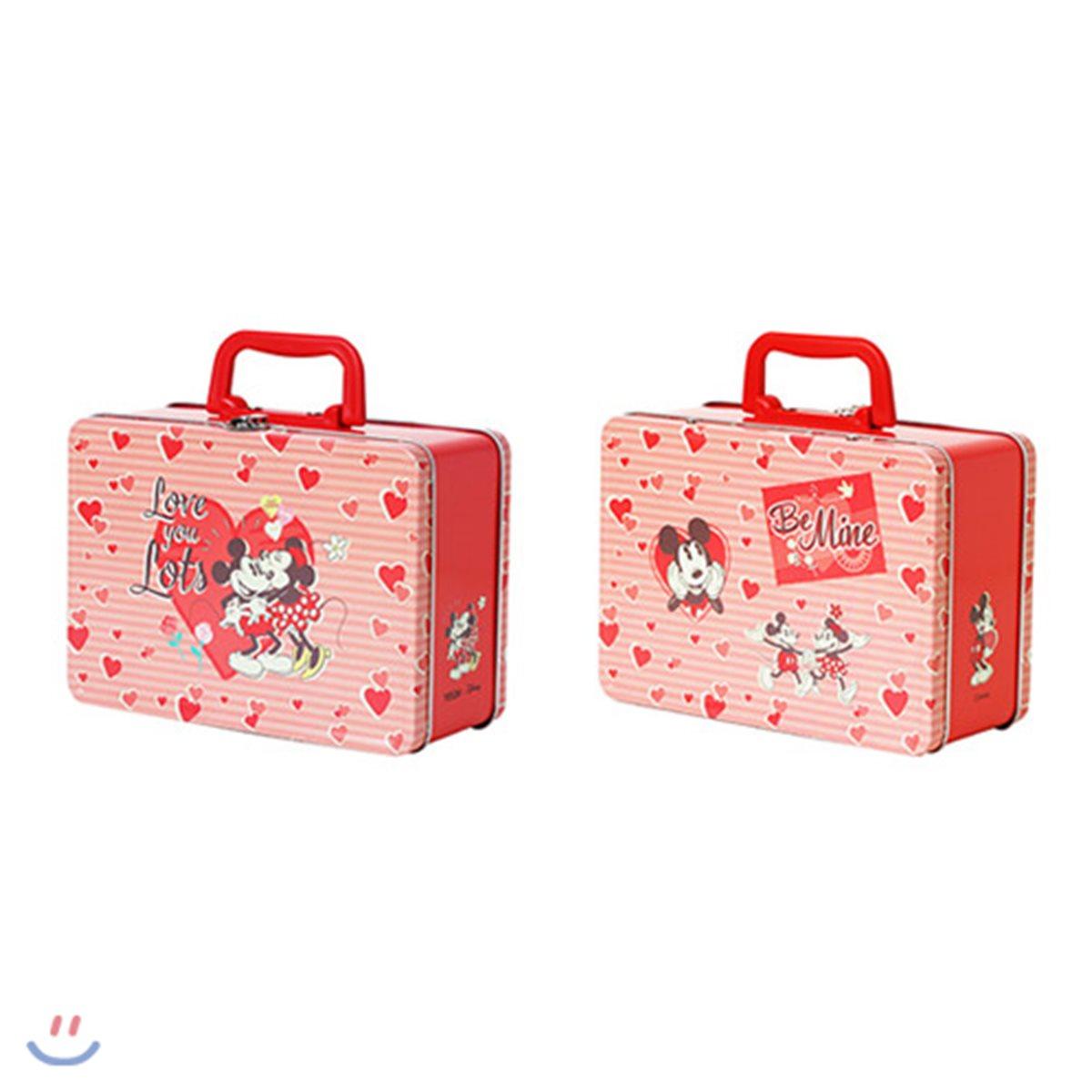 [예스베리굿즈][YES24 X 디즈니]미키&미니 틴케이스 가방
