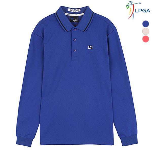 [LPGA]남성 면터치폴리 기본 티셔츠(L163TS241P)