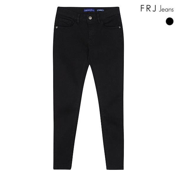 [FRJ]여성 블랙주자RAW스키니 (F87F-DP972A)