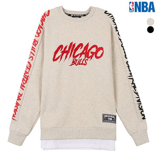 [NBA]CHI BULLS 레이어드 맨투맨 티셔츠(N184TS301P)