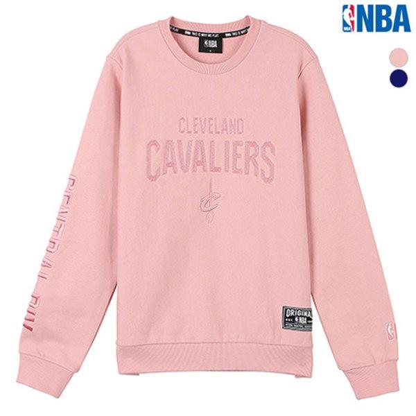 [NBA]CLE CAVALIERS 체인자수아트웍 맨투맨 티셔츠(N184TS020P)