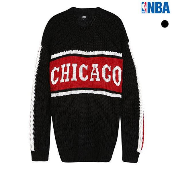 [NBA]CHI BULLS 컬러블록 스웨터(N184KT312P)