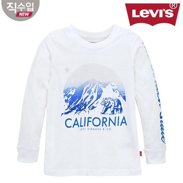 [리바이스키즈] 그래픽 티셔츠(긴팔)L VNF11QTS59 (키즈)