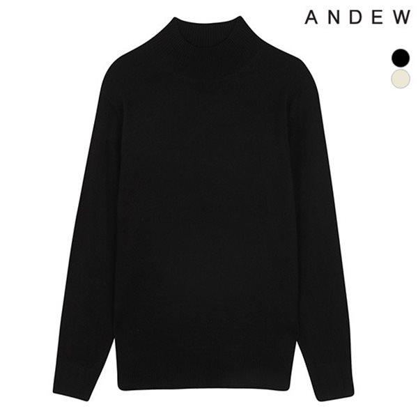 [ANDEW]남성 솔리드 반터틀 풀오버 (O184KT110P)