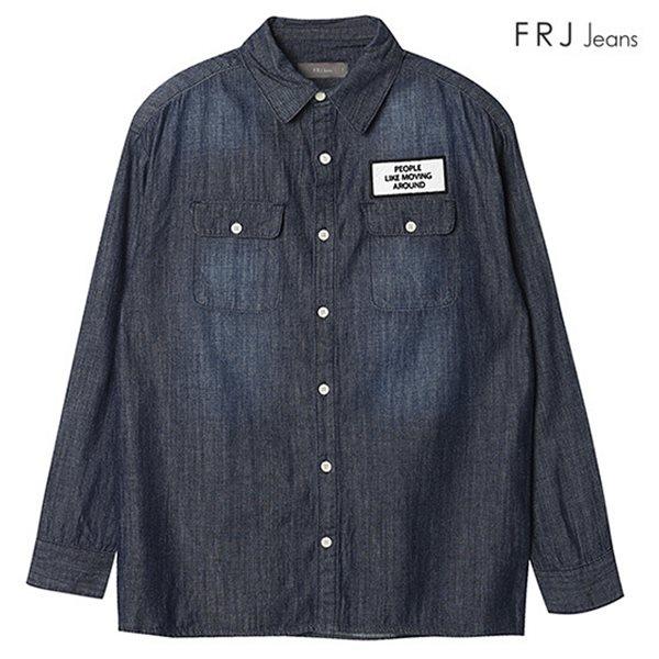 [FRJ]여성 데님 셔츠 ID (F63F-SH517G)