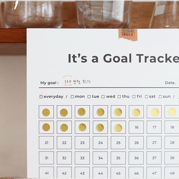 Goal Tracker-100days [A4]