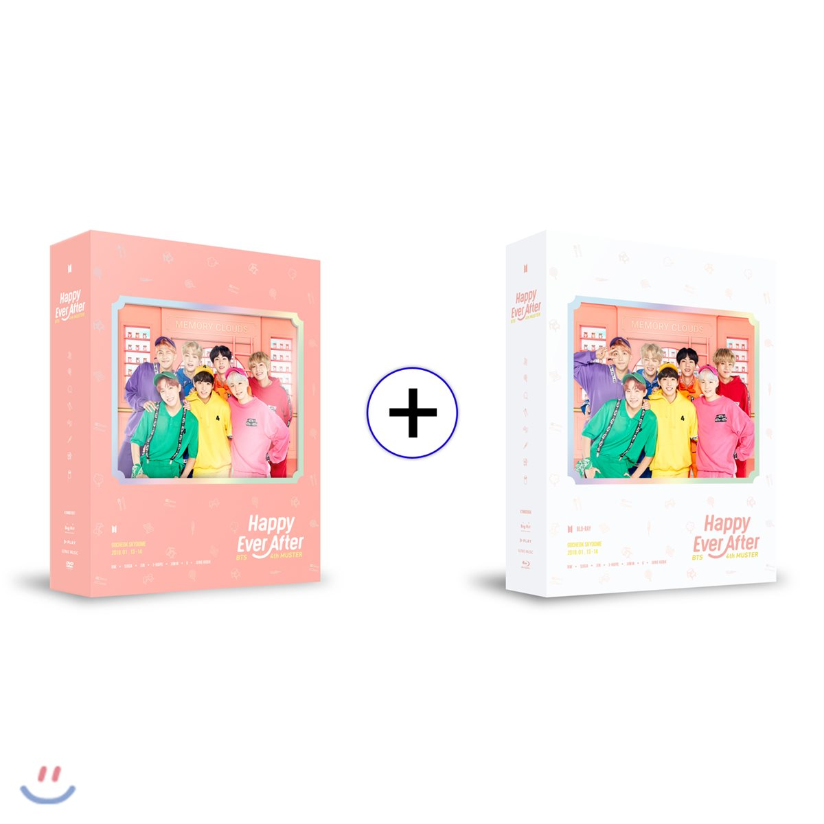 방탄소년단 (BTS) - BTS 4th MUSTER : Happy Ever After [DVD+Blu-ray/SET]