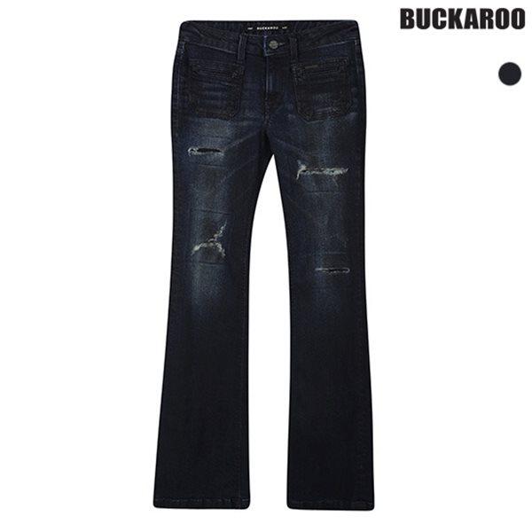 [BUCKAROO]여성 BOOT-CUT 앞포켓 포인트 D톤(B154DP751M)