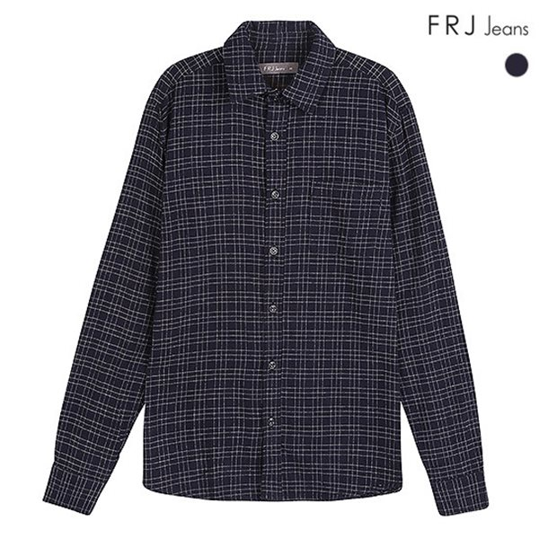 [FRJ]남성 플란넬 체크셔츠 (F84M-SH039A)