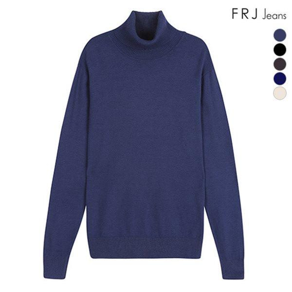 [FRJ]유니 베이직 터틀넥 티셔츠 (F88U-KP919A)