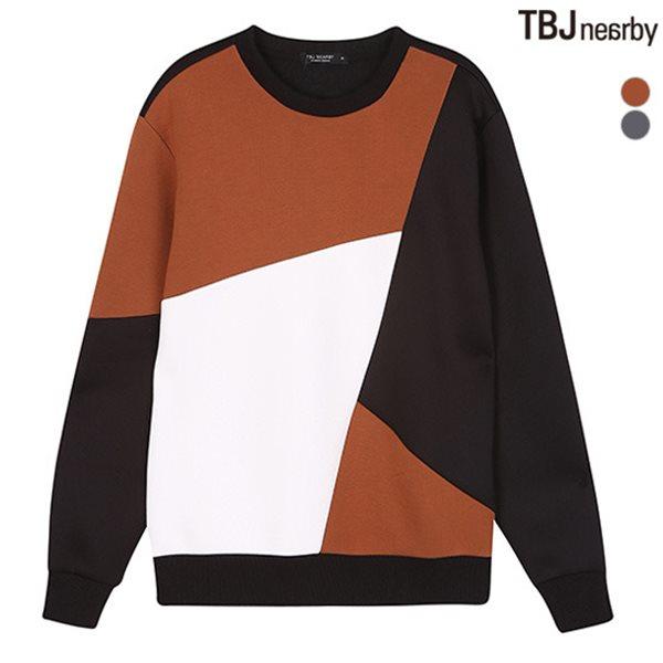 [TBJ]남성 네오프랜 절개 맨투맨(T184TS140P)