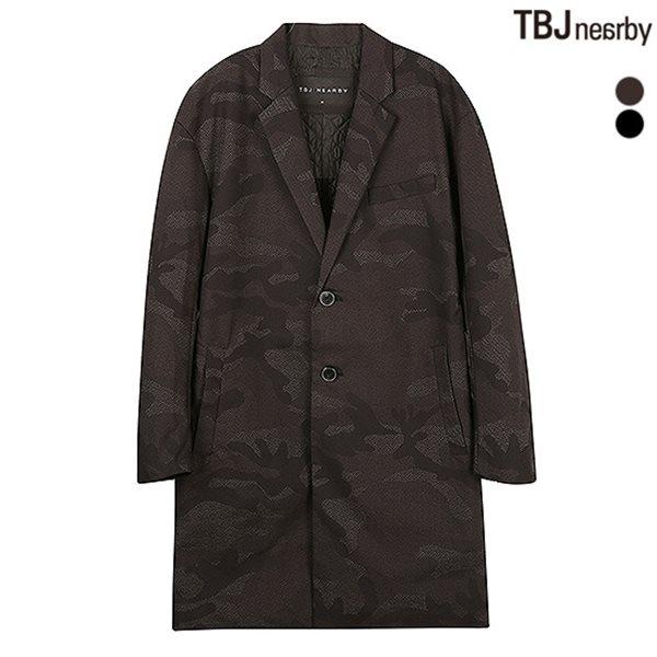 [TBJ]남성 롱기장 패딩 싱글 맥코트(T154JP410P)