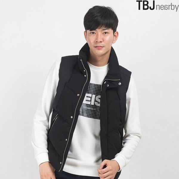 [TBJ]남성 스텐애리 인조다운 베스트(T154JP004P)