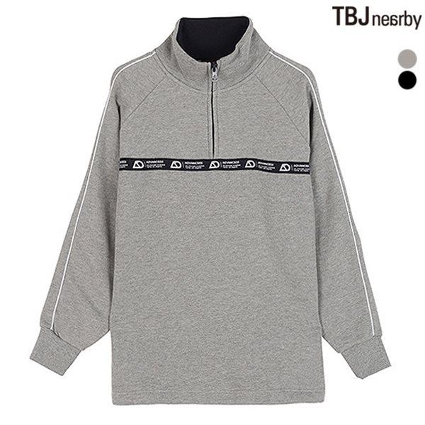 [TBJ]유니 AD 기모쭈리 하이넥 풀오버(T184TS200P)