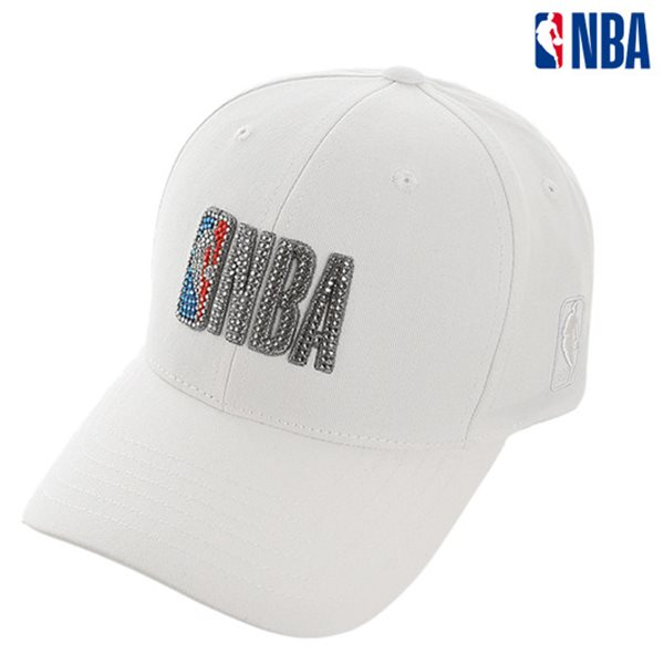 [NBA]NBA SWAROVSKI HARD CURVED CAP(N185AP021P)