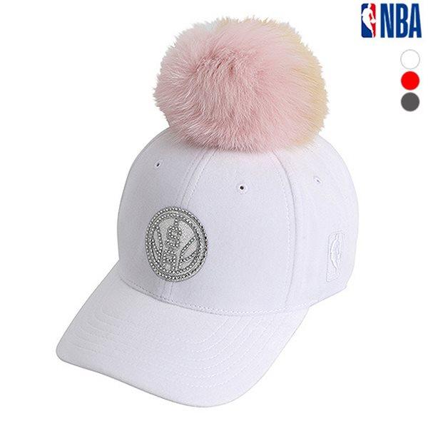 [NBA]SAS SPURS 폼폼 장식 HARD CURVED CAP(N185AP188P)
