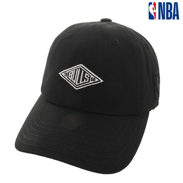 [NBA]CHI BULLS 마름모 자수장식 SOFT CURVED CAP(N185AP222P)