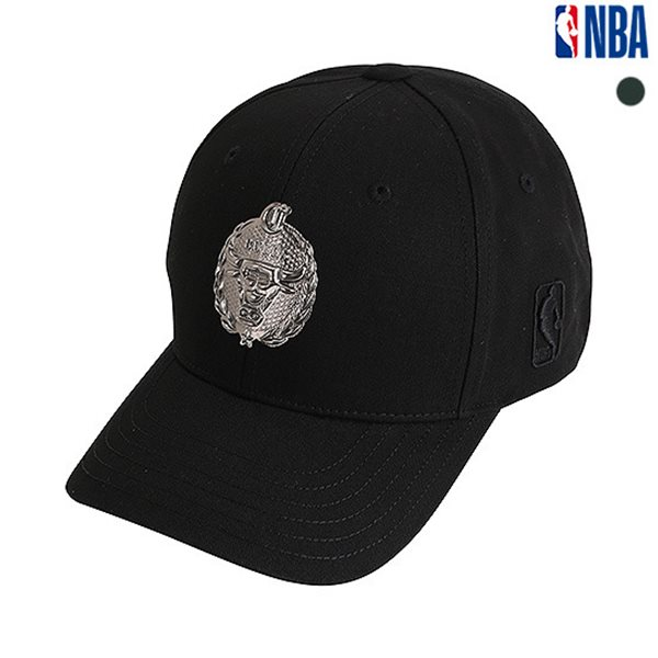 [NBA]CHI BULLS 팀로고 HARD CURVED CAP(N185AP421P)