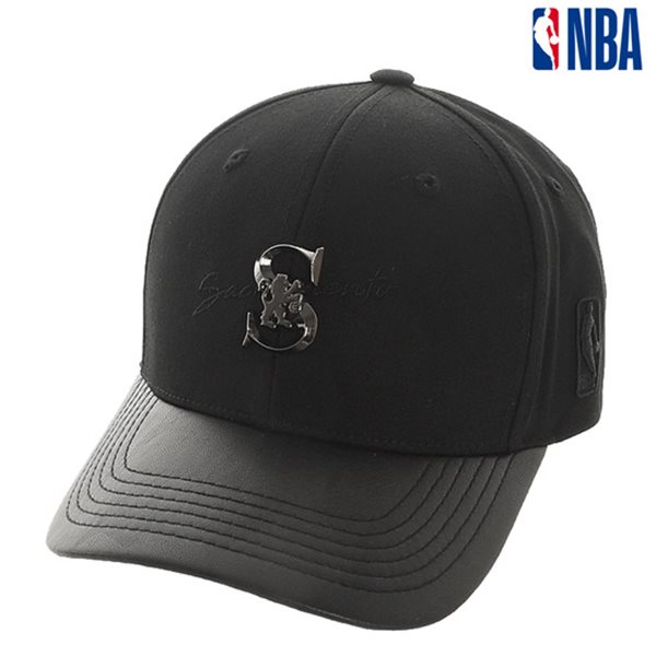 [NBA]SAC KINGS 금속장식 레터링 HARD CURVED CAP(N185AP422P)
